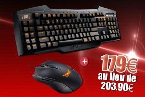 Pack Clavier Strix pro + Souris Strix Claw