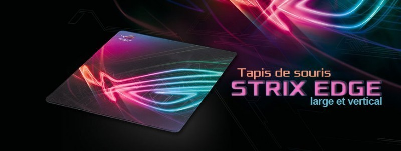 Tapis de souris gaming Asus ROG Strix Edge