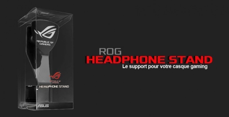 L'Asus ROG Headphone Stand