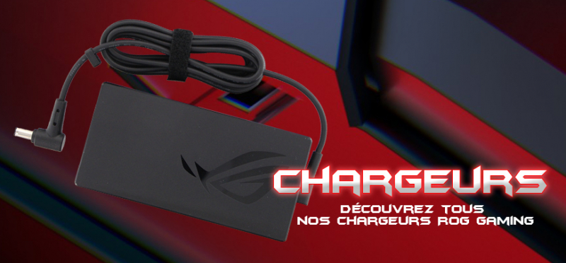 chargeurs Asus ROG Gaming