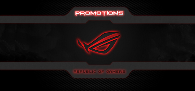 promotions Asus ROG Gaming