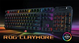Clavier Asus ROG Claymore : Premier clavier modulable RGB LED